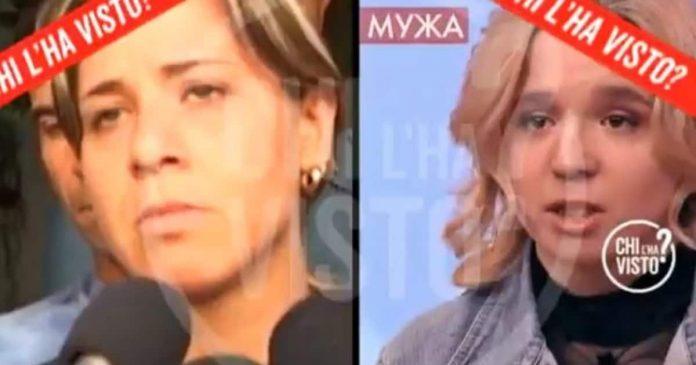 Piera Maggio e ragazza russa