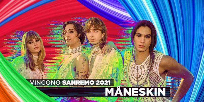 Maneskin vincitori Sanremo 2021