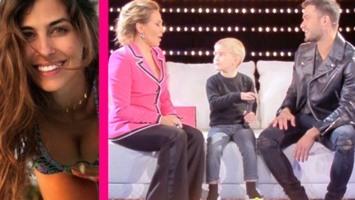 Domenica Live, Pierpaolo Pretelli ospite con il figlio Leo piovono critiche