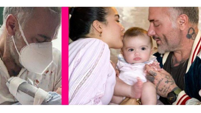 Gianluca Vacchi, la figlia operata per malformazione: Giorni difficili