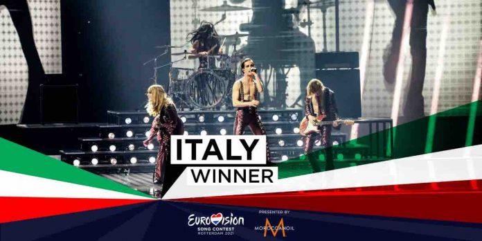 Maneskin vincitori Eurovision 2021