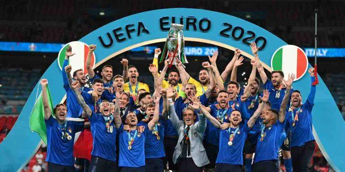 Notte Azzurra, Italia Euro 2020