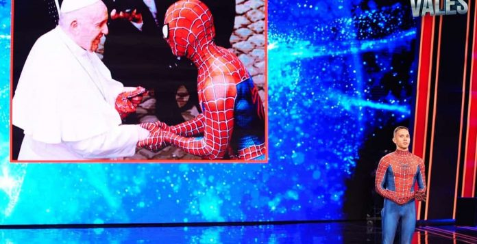 Tu si que vales 2021 Spider Man